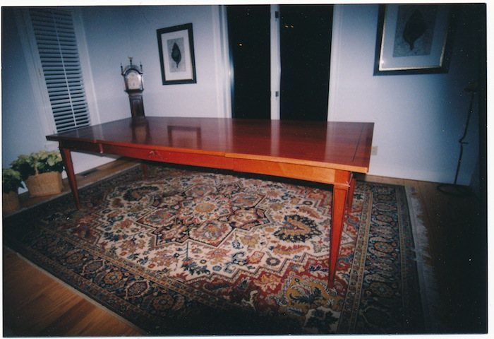 Dining Table, Mahogany