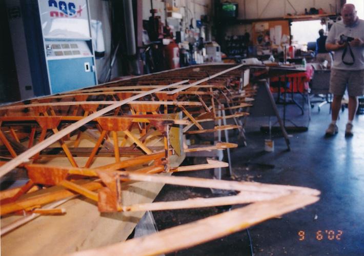 WWII bi-plane restoration