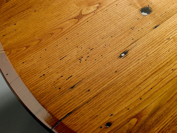 Conference table, American chestnut