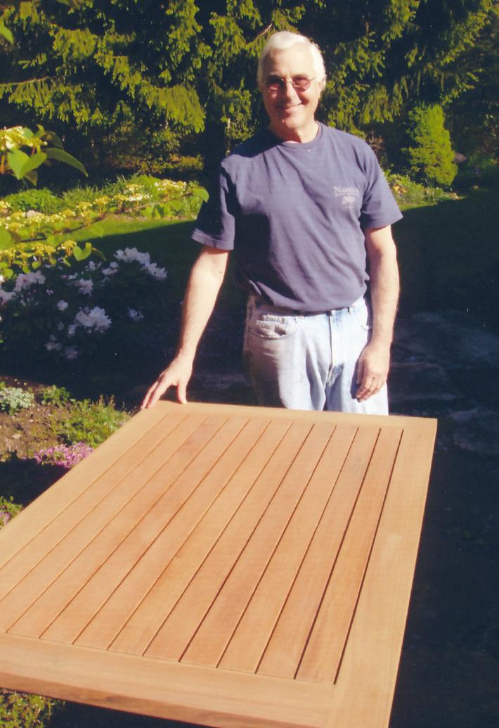 Garden Table, Teak