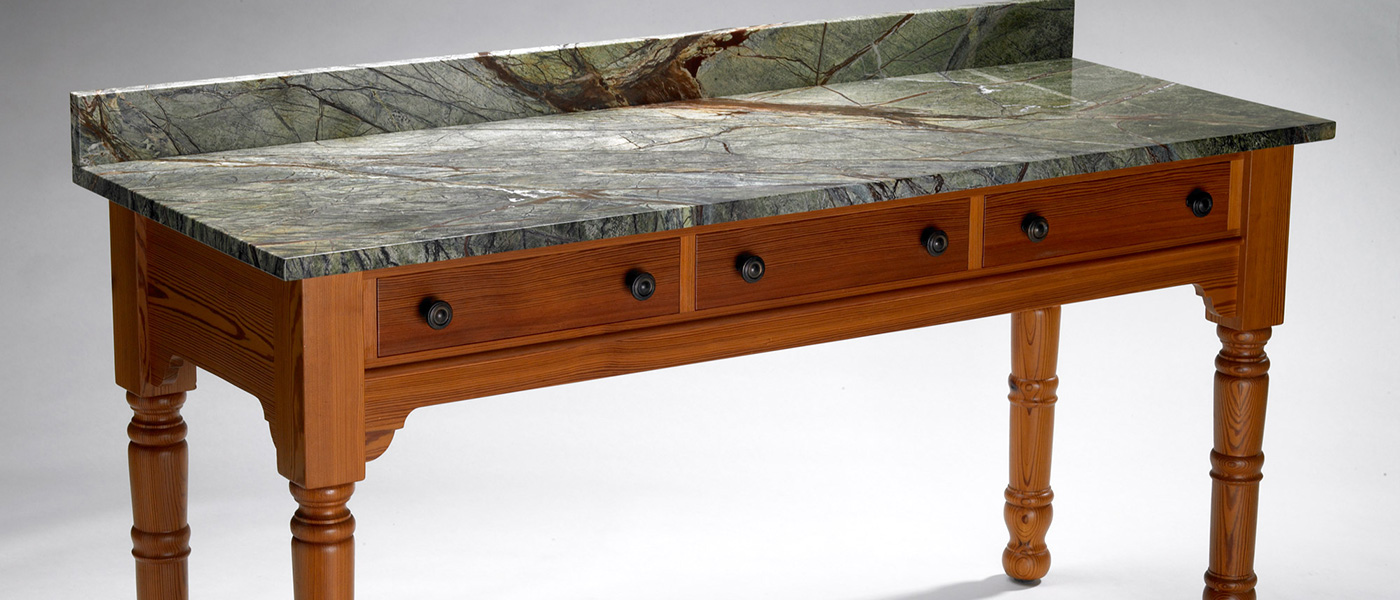 Sideboard - Soapstone with 3 Drawers