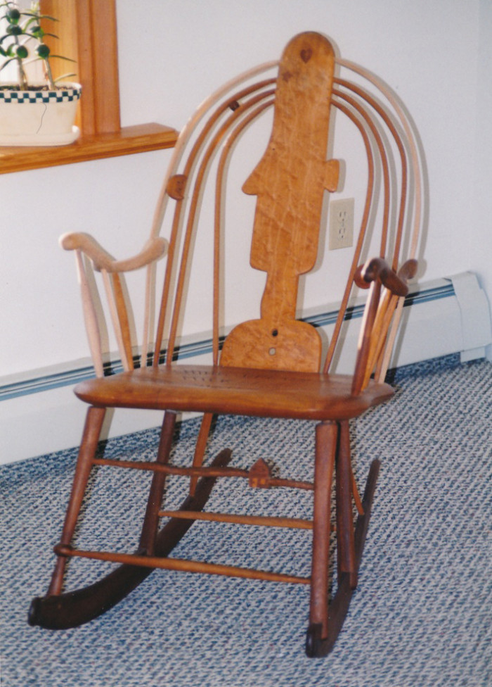 Folk Art Chair Repair